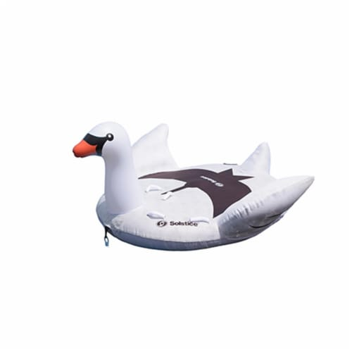 Swimline 22301-SWM 2 Person Towable Swan Tube Perspective: front