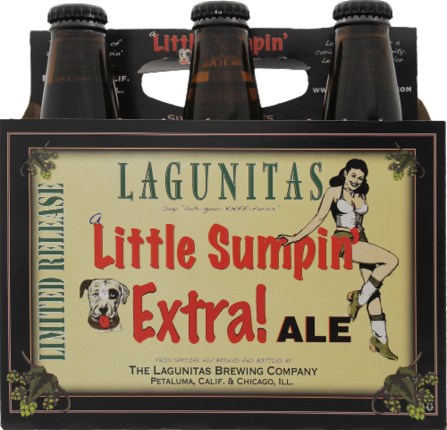 Lagunitas Seasonal Little Sumpin' Wild Ale Perspective: front