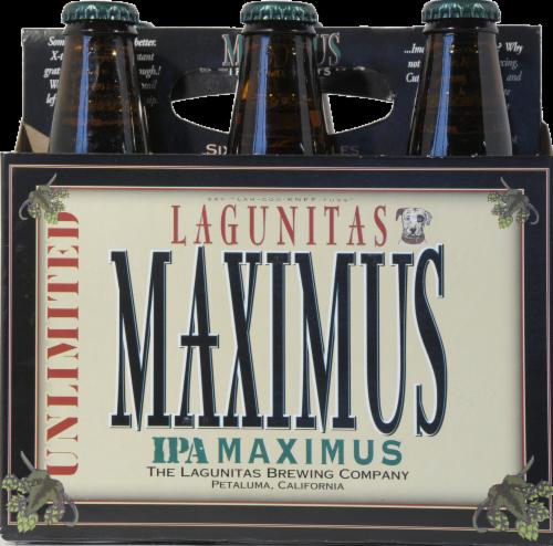 Lagunitas Maximus IPA Perspective: front