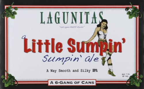Lagunitas A Little Sumpin' Sumpin' Ale IPA Perspective: front