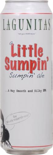 Lagunitas Little Sumpin Sumpin IPA Beer Perspective: front