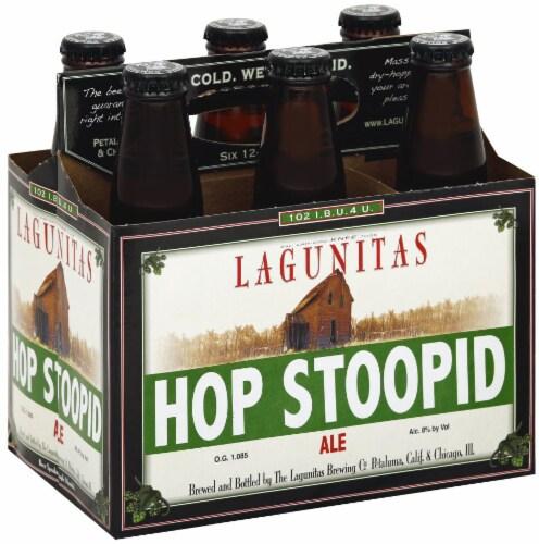 Lagunitas Hop Stoopid Ale Perspective: front