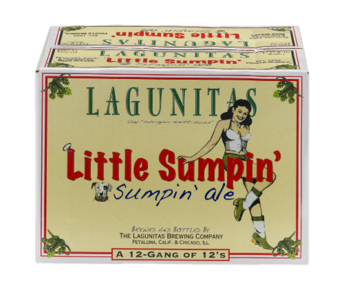 Lagunitas Little Sumpin' Ale Perspective: front