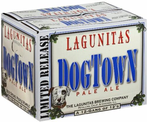 Lagunitas Dog Town Pale Ale Perspective: front