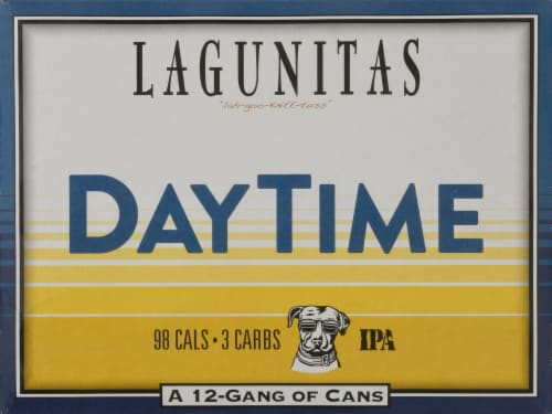 Lagunitas Daytime IPA Beer Perspective: front