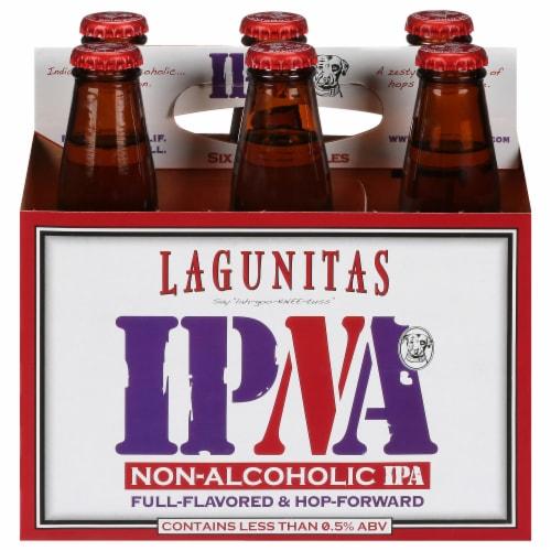 Lagunitas IPNA Non-Alcoholic IPA Perspective: front