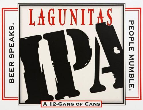 Lagunitas IPA Beer Perspective: front