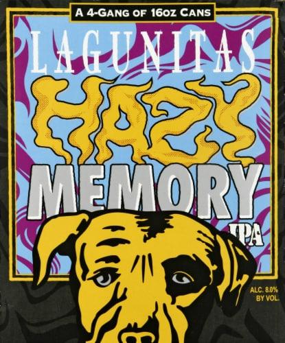Lagunitas Hazy Memory IPA Perspective: front