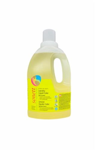 Sonett Organic LAUNDRY LIQUID Color. Mint & Lemon Perspective: front