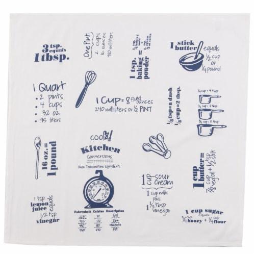Kay Dee Designs Flour Sack Towel - Cobalt Perspective: front
