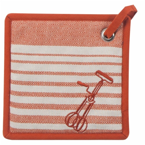 Kay Dee Designs Cook Potholder - Tiger Lily Perspective: front
