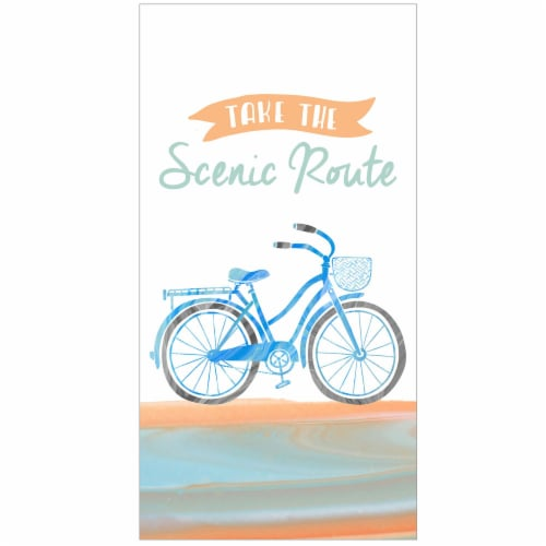 Kay Dee Scenic Rout Cotton Towel Perspective: front
