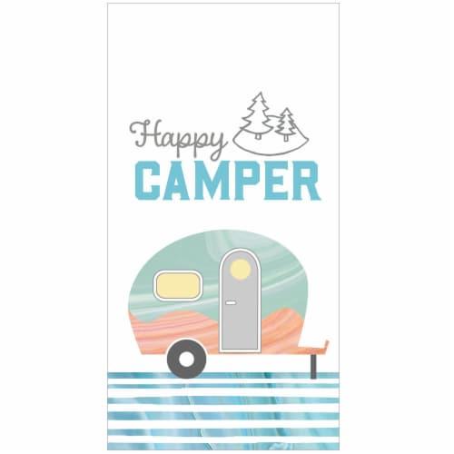 Kay Dee Happy Camper Cotton Towel Perspective: front