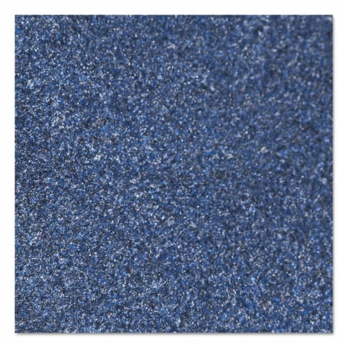 36 x 60 in. Rely-On Olefin Indoor Wiper Mat - Marlin Blue Perspective: front