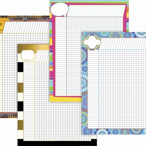 Elementary-Middle School Incentive Chart Pack, 17 x 22 in. - Pack of 4 Perspective: front