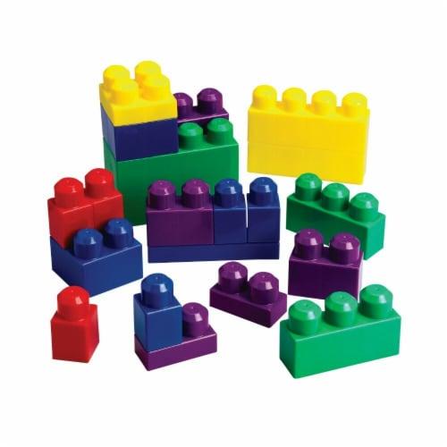 Interlocking Building Brick Set - Set 60 Perspective: front