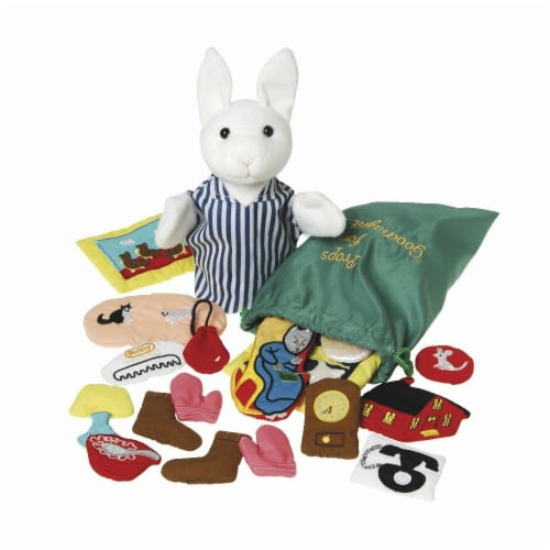Puppet & Props for Goodnight Moon, Set of 20 Perspective: front