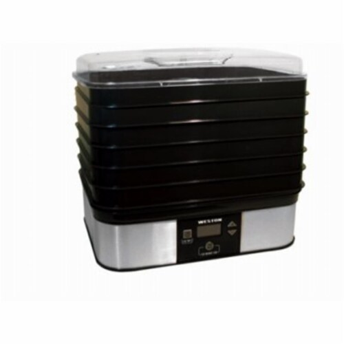 6-Tray Digital Food Dehydrator Perspective: front