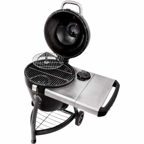 Charcoal Kamado Grill Perspective: front