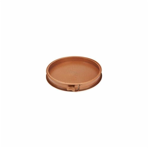 3 Piece Copper Chef Pizza Pan Perspective: front
