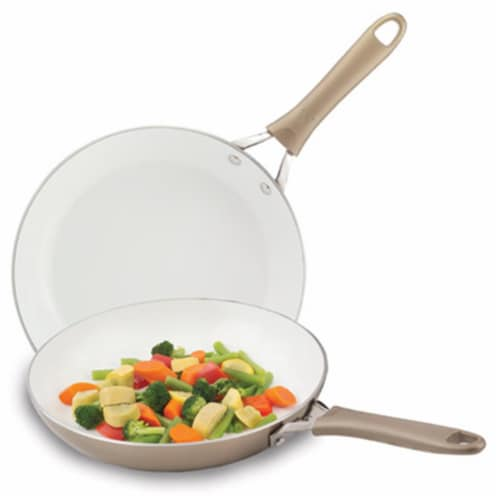 2 Pieces 8 & 10 in. Saute Pan Combo Perspective: front