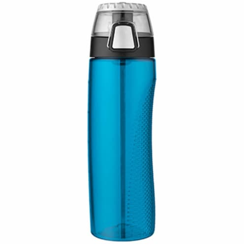 HP4100TLTRI6 24 oz. Hydration Bottle With Rotating Intake Meter Perspective: front