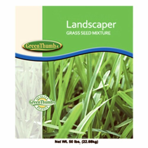 46650 50 lbs. Landscape Grass Seed Mix Perspective: front