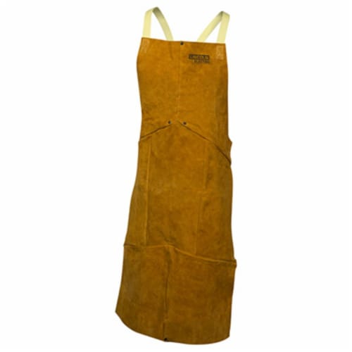 Leather Welding Apron Perspective: front