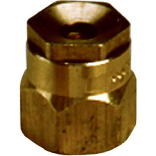 S9F 1.5 in. Full Circle Brass Shrubbery Sprinkler Head Perspective: front