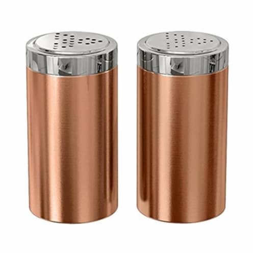 Salt and Pepper Shaker - Jumbo  Copper Perspective: front