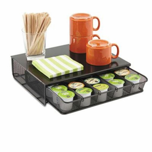 Onyx One Drawer Hospitality Organizer Perspective: front