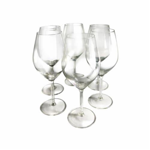 Illuminati Red Wine Glasses - Set of 6 Perspective: front