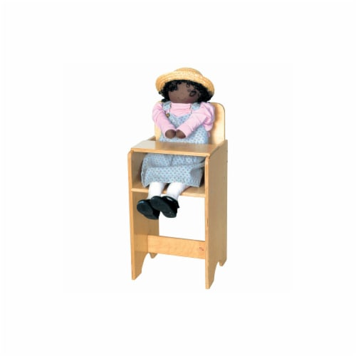 Doll Furniture - High Chair Perspective: front