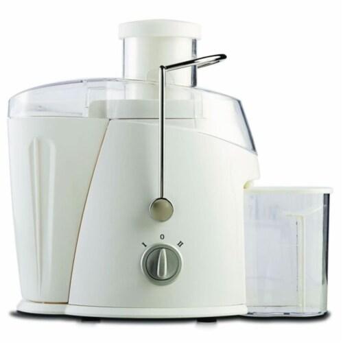 400 Watt Juice Extractor In White Perspective: front