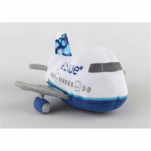 Jet Blue Plush Aircraft with Sound Perspective: front