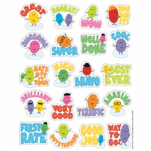 Jelly Beans Scented Stickers Perspective: front