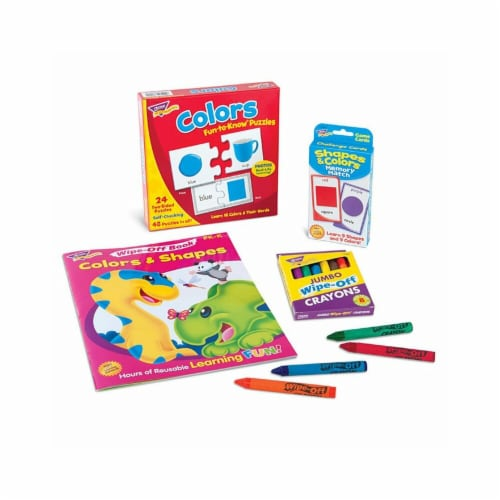 Colors & Shapes Learning Fun Pack Perspective: front