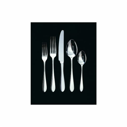 Linden 4 Piece Hostess Set - 18-10 Stainless - Mirror Finish Perspective: front