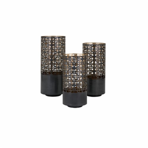Modi Pierced Lanterns - Set of 3 Perspective: front