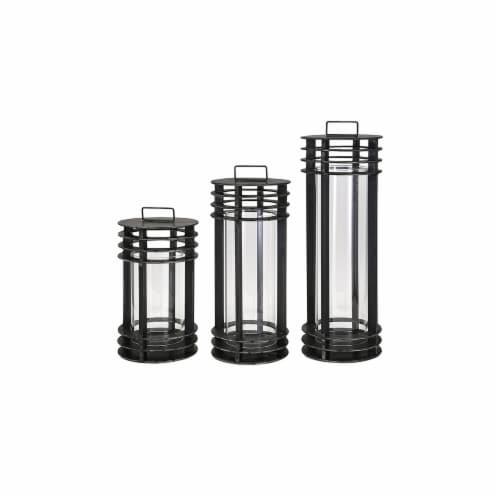 Electra Metal Lanterns - Set of 3 Perspective: front