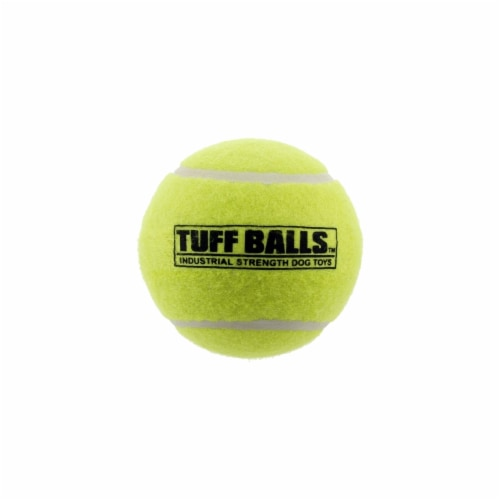 4 in. Tuff Balls Pet Tennis Ball Perspective: front