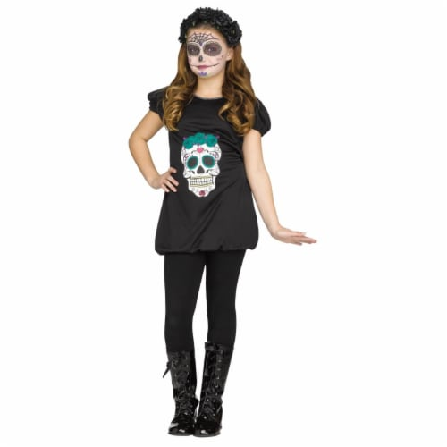 Dod Romper Child Costume, Small 4-6 Perspective: front