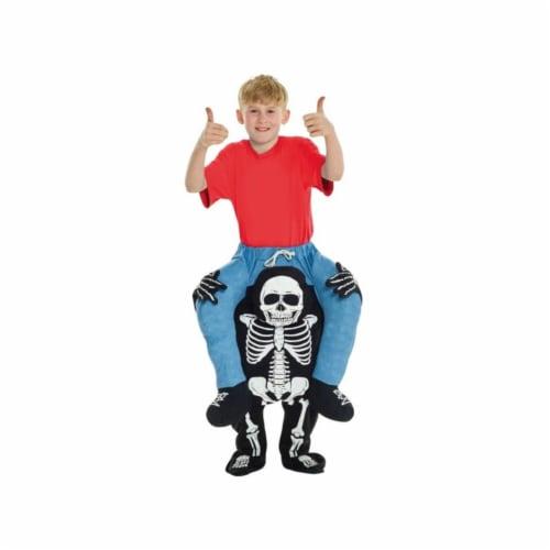 Skeleton Kids Piggyback Perspective: front