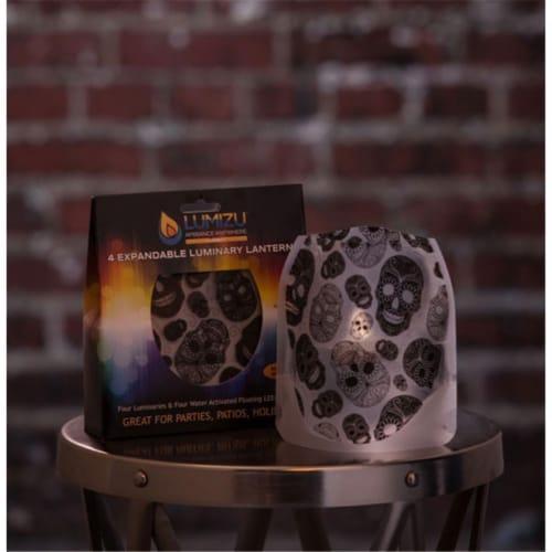 Lumizu Expandable Luminary Lantern Skoup Perspective: front