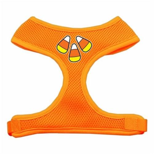 Candy Corn Design Soft Mesh Harnesses Orange Large Perspective: front