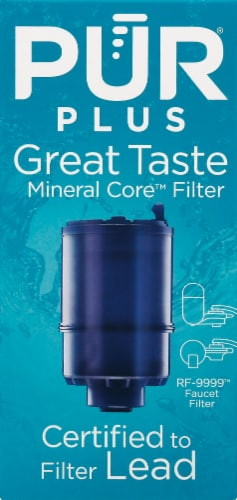 Pur MineralClear Replacement Water Filter - Blue Perspective: front