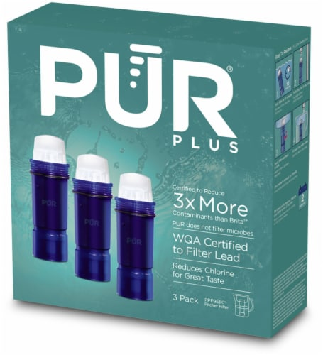 Pur Maxion Filter Technology Replacement Pitcher Filters Perspective: front