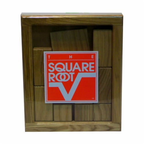 Square Root The Square Root Brain Teaser Puzzle Perspective: front