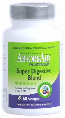 Nature's Sources  AbsorbAid® Platinum Perspective: front