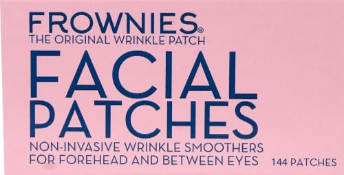 Frownies  Facial Patches for Forehead & Between Eyes Perspective: front